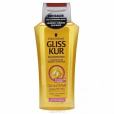 Шампунь GLISS KUR 250 мл oil nutritive