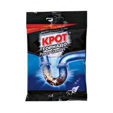 Чистящее средство КРОТ 90 гр ТОРНАДО гранулы для прочистки труб