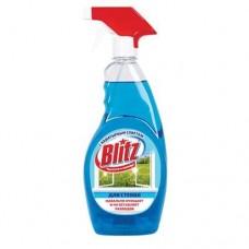 Моющее средство BLITZ 900 мл для стекол с нашатырным спиртом курок