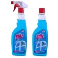 Моющее средство BLITZ 500 мл для стекл курок нашатырный спирт  + BLITZ 500 мл дл