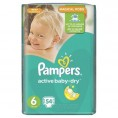 Подгузник PAMPERS ACTIVE BABY DRY extra large 15+ кг (54шт) №6