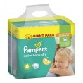 Подгузник PAMPERS ACTIVE BABY DRY extra large 15+ кг (66шт) №6