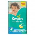 Подгузник PAMPERS ACTIVE BABY DRY maxi 9-16 кг (62шт) №4+