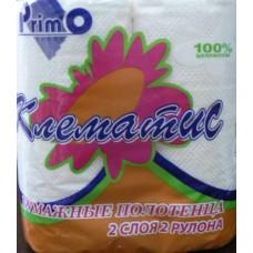 Полотенце бумажные КЛЕМАТИС С-41-22 (2 шт)