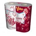 Туалетная бумага VEIRO LUXORIA 3-х слойная (4 шт)
