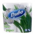 Туалетная бумага ДИВО ЭКОНОМ 2-слойная (8 шт) белая