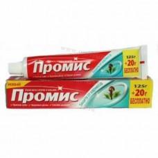 Зубная паста ПРОМИС 125 гр + 20 защита от кариеса