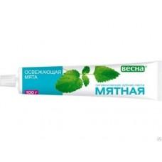 Зубная паста (САМАРА) МЯТНАЯ 100 гр освежающая мята без футляра