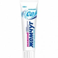 Зубная паста (САМАРА) ВОЛЖСКИЙ ЖЕМЧУГ 100 гр кальций