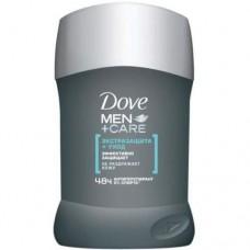 Дезодорант DOVE СТИК 50 мл экстра защита и уход мужской