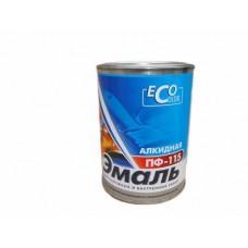 Краска ЭМАЛЬ ПФ115 -ЭКО- зеленая 0.9 кг