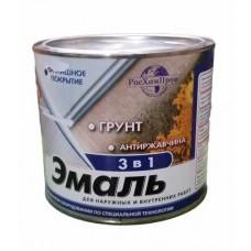 Краска ГРУНТ ЭМАЛЬ 3 в 1 желтая 1.9