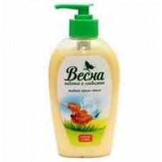 Мыло ЖИДКОЕ ВЕСНА 280 гр Крем молоко мед