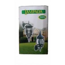 Светильник LAMPADA 8105 восьмигранник,черный золото