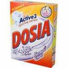 Стиральный порошок DOSIA 365 гр белый снег