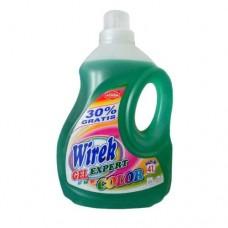 Средство для стирки WIREK 2 л ГЕЛЬ эксперт для цветных вещей