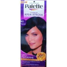 Краска для волос ПАЛЕТТЕ N1 черный