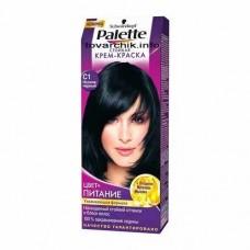 Краска для волос ПАЛЕТТЕ C1 иссиня-черный