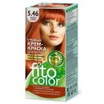 Краска для волос FITOCOLOR 5.46 медно-рыжий 115 мл