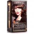 Краска для волос LOREAL ПРЕФЕРАНС 4.15 каракас темный каштан