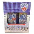 Набор КХЛ FAN CLUB (гель д-душа 250мл+ лосьон п-бритья 150мл)