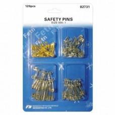 Булавки SAFETY PINS с 4 ячейками