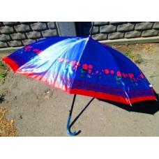 Зонт ЖЕНСКИЙ 60275 трость ручка 69 см