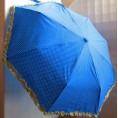 Зонт ЖЕНСКИЙ 60279 складной, чехол,  ручка 55 см