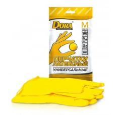 Перчатки DORA латексные универсальные размер S