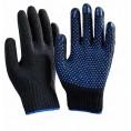 Перчатки Х-Б ТОЧКА 10 класс (5 нитка) черные