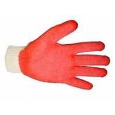 Перчатки Х-Б ОБЛИВНЫЕ латекс 2 слой красный