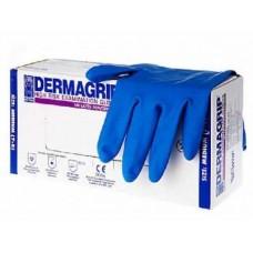 Перчатки DERMAGRIP S high risk ( синие)