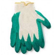 Перчатки Х-Б ОБЛИВНЫЕ латекс 1 слой зеленые