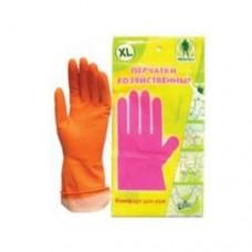 Перчатки ГРИН БЕЛТ хозяйственные розовые M