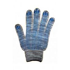 Перчатки Х-Б ТОЧКА 10 класс (5 нитка) черный оверлог