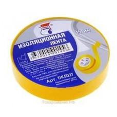Изолента ПВХ KLEBEBANDER 15*20 желтая