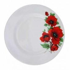 Тарелка 56-8 мелкая 200 красный мак