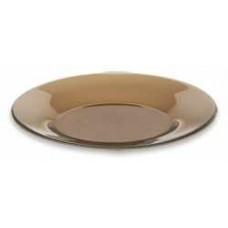 Тарелка 200 мм 62072 дым. стекло