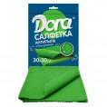 Салфетка из микрофибры DORA 30*30 см (1 шт) антипыль