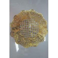 Салфетка АЖУР 79896 д30 см золото