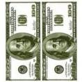 Салфетки КИВИ 18 листов 33*33 3-сл дуэт money-money