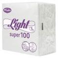 Салфетки PLUSHE Light super 75 л 1 слой белая