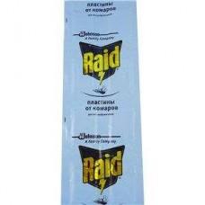 Пластины от комаров RAID 10 шт