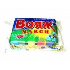 Губка для посуды ВОЯЖ МАКСИ-5 шт 9*6.5 см