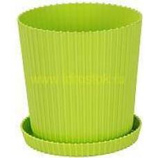 Горшок ТРИУМФ 2.5 л М4966 зеленый