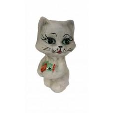 Статуэтка РЫБАК ШАМ (кот с рыбкой)