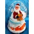 Сувенир СКАЗОЧНЫЙ ШАР со снегом с музыкой с подсветкой 10*15 см 61814