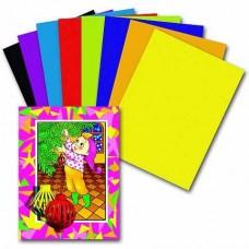 Бумага ЦВЕТНАЯ 16 л 8 цветов ПИФАГОР 121007