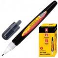 Корректор ручка 8 мл BRAUBERG черный корпус 225214