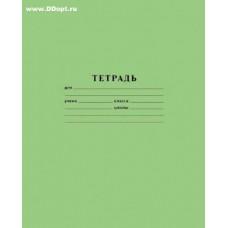 Тетрадь 12 л клетка зеленая 101886